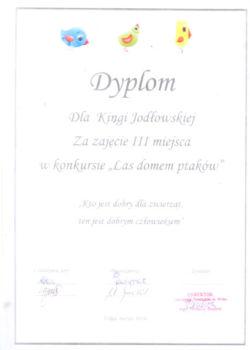 3 miejsceKinga Jodłowska