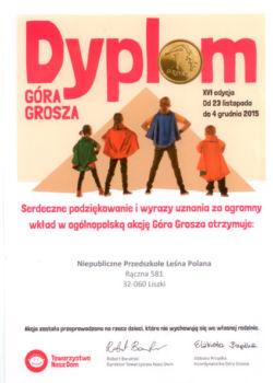 Dyplom Góra Grosza 2016